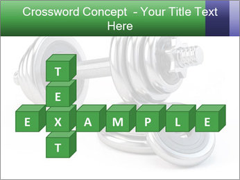 Dumbbell PowerPoint Template - Slide 82