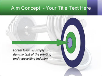 Dumbbell PowerPoint Template - Slide 83