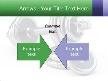 Dumbbell PowerPoint Template - Slide 90