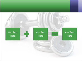 Dumbbell PowerPoint Template - Slide 95