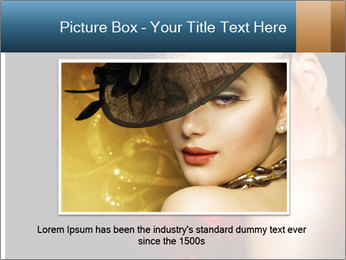 Mysterious girl PowerPoint Templates - Slide 16