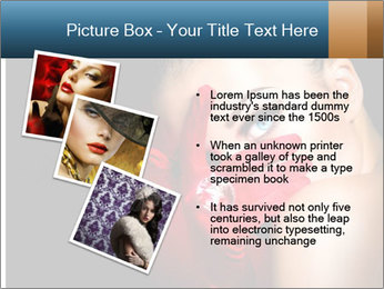 Mysterious girl PowerPoint Templates - Slide 17