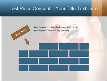 Mysterious girl PowerPoint Templates - Slide 46