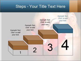 Mysterious girl PowerPoint Templates - Slide 64