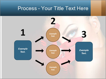 Mysterious girl PowerPoint Templates - Slide 92
