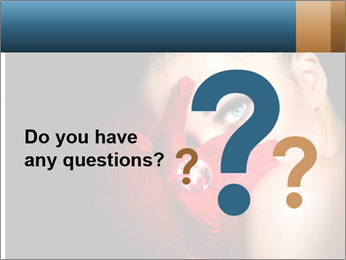 Mysterious girl PowerPoint Templates - Slide 96