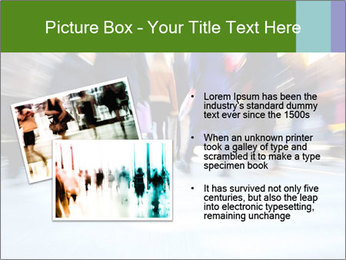 Commuters in motion blur PowerPoint Template - Slide 20