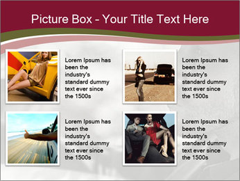 Elegant young handsome man and convertible car PowerPoint Template - Slide 14