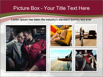 Elegant young handsome man and convertible car PowerPoint Template - Slide 19