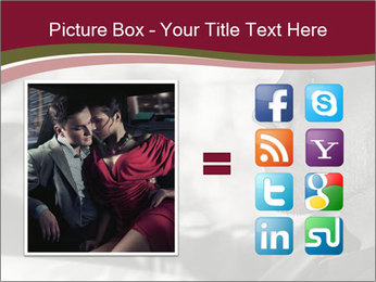 Elegant young handsome man and convertible car PowerPoint Template - Slide 21