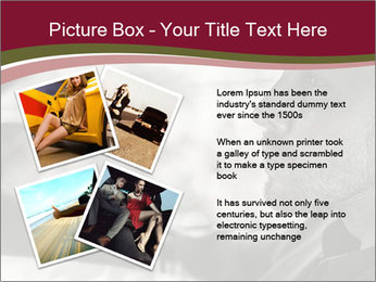 Elegant young handsome man and convertible car PowerPoint Template - Slide 23