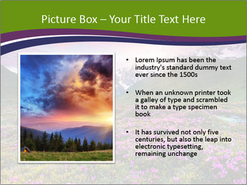 Fantastic colorful sunset PowerPoint Templates - Slide 13