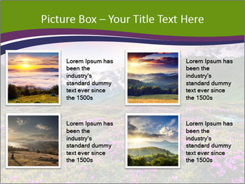 Fantastic colorful sunset PowerPoint Templates - Slide 14