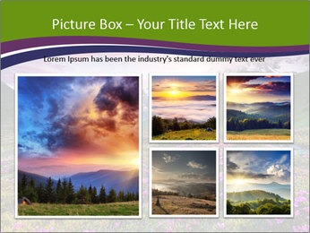 Fantastic colorful sunset PowerPoint Templates - Slide 19