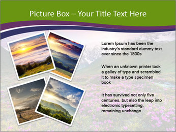 Fantastic colorful sunset PowerPoint Templates - Slide 23