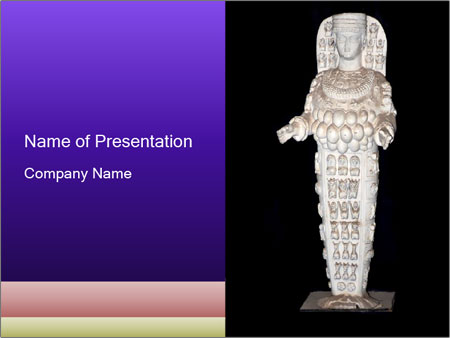 Statue of Artemis PowerPoint Templates