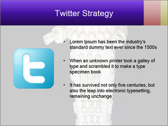 Statue of Artemis PowerPoint Template - Slide 9