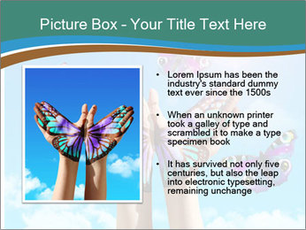 Concept for spiritual symbol of soul PowerPoint Template - Slide 13