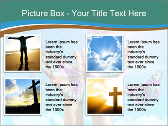Concept for spiritual symbol of soul PowerPoint Template - Slide 14