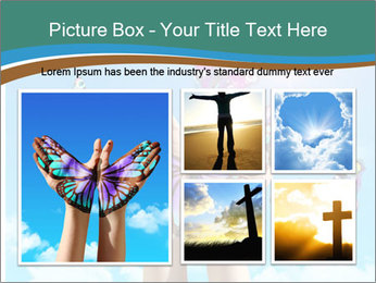 Concept for spiritual symbol of soul PowerPoint Template - Slide 19