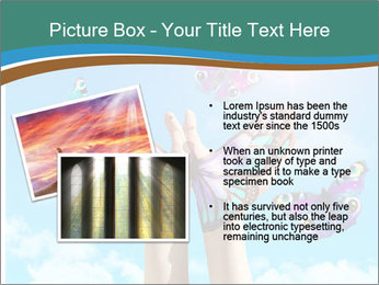 Concept for spiritual symbol of soul PowerPoint Template - Slide 20