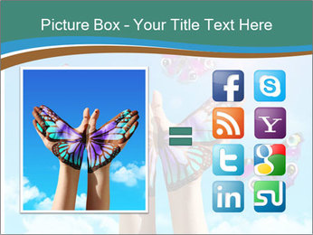 Concept for spiritual symbol of soul PowerPoint Template - Slide 21