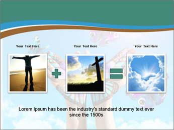 Concept for spiritual symbol of soul PowerPoint Template - Slide 22