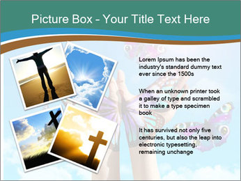 Concept for spiritual symbol of soul PowerPoint Template - Slide 23