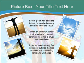 Concept for spiritual symbol of soul PowerPoint Template - Slide 24