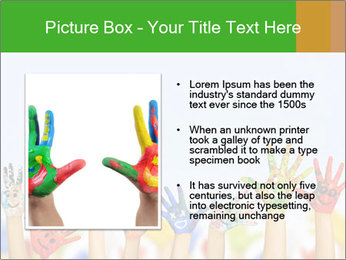 Image of human hands PowerPoint Templates - Slide 13
