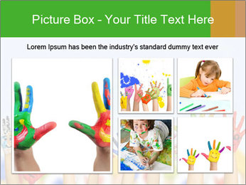 Image of human hands PowerPoint Templates - Slide 19