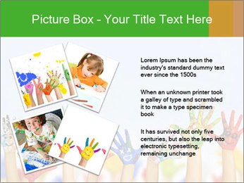Image of human hands PowerPoint Templates - Slide 23