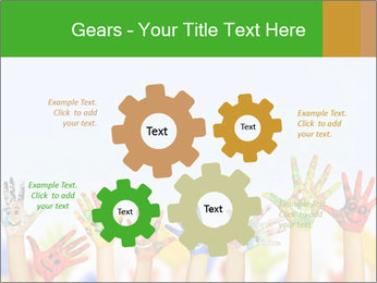 Image of human hands PowerPoint Templates - Slide 47