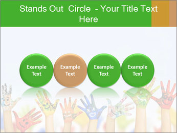 Image of human hands PowerPoint Templates - Slide 76