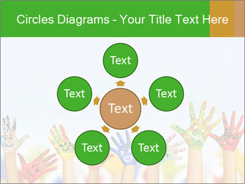 Image of human hands PowerPoint Templates - Slide 78