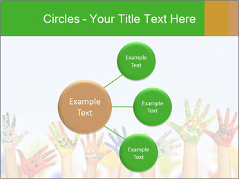 Image of human hands PowerPoint Templates - Slide 79