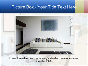 Luxury living room with nice decoration PowerPoint Template - Slide 16