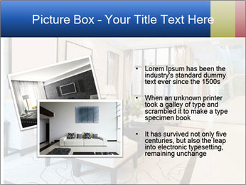 Luxury living room with nice decoration PowerPoint Template - Slide 20