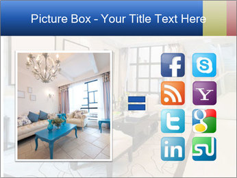 Luxury living room with nice decoration PowerPoint Template - Slide 21