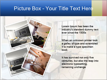 Luxury living room with nice decoration PowerPoint Template - Slide 23