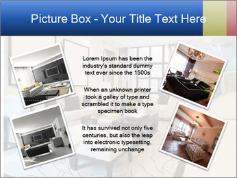 Luxury living room with nice decoration PowerPoint Template - Slide 24