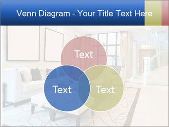 Luxury living room with nice decoration PowerPoint Template - Slide 33