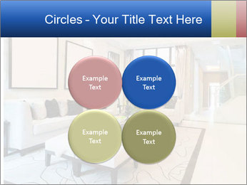 Luxury living room with nice decoration PowerPoint Templates - Slide 38