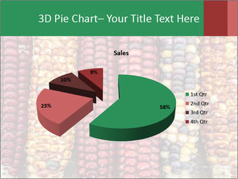 Indian colored corn PowerPoint Templates - Slide 35