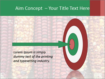 Indian colored corn PowerPoint Templates - Slide 83