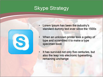 Monk receiving food PowerPoint Templates - Slide 8