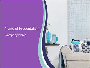 Interior PowerPoint Template - Slide 1