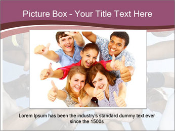 A group of mixed race PowerPoint Template - Slide 15