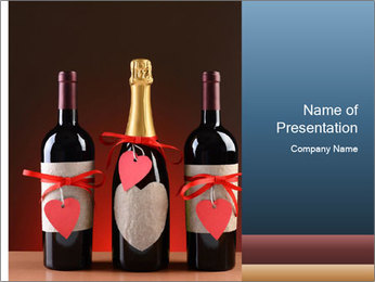Wine PowerPoint Templates - Slide 1