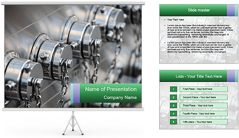 Dry standpipe outlets PowerPoint Template